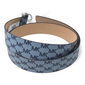 Michael Kors Blue Logo Waist Belt NWT $58 MSRP